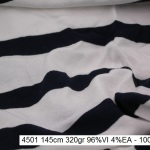 4501 stretch stripes viscose dress fashion fabric