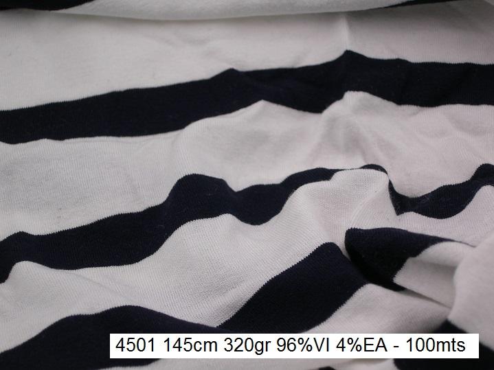 4501 stretch stripes viscose dress fashion fabric