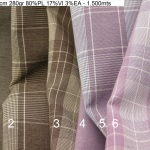 4510 checkers plain princeofwales comfort stretch jacket fashion fabric