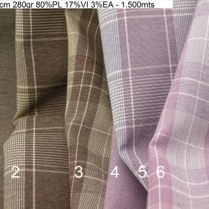 4510 checkers plain princeofwales comfort stretch jacket fashion fabric