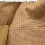 4529 doubleface open princeofwales coat fashion fabric