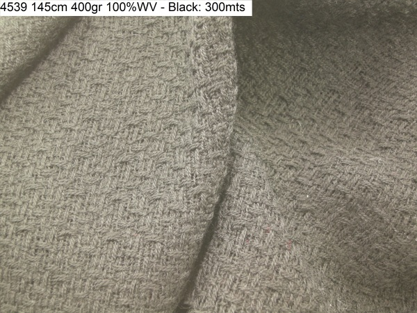 4539 matting pure wool texture coat fashion fabric