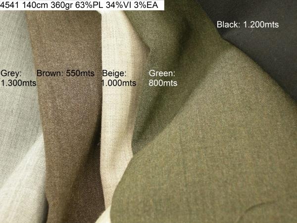4541 stretch melange jacket pants fashion fabric