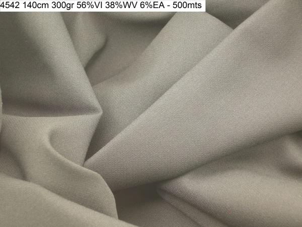 4542 stretch wool blend crepe sateen jacket pants dress fashion fabric