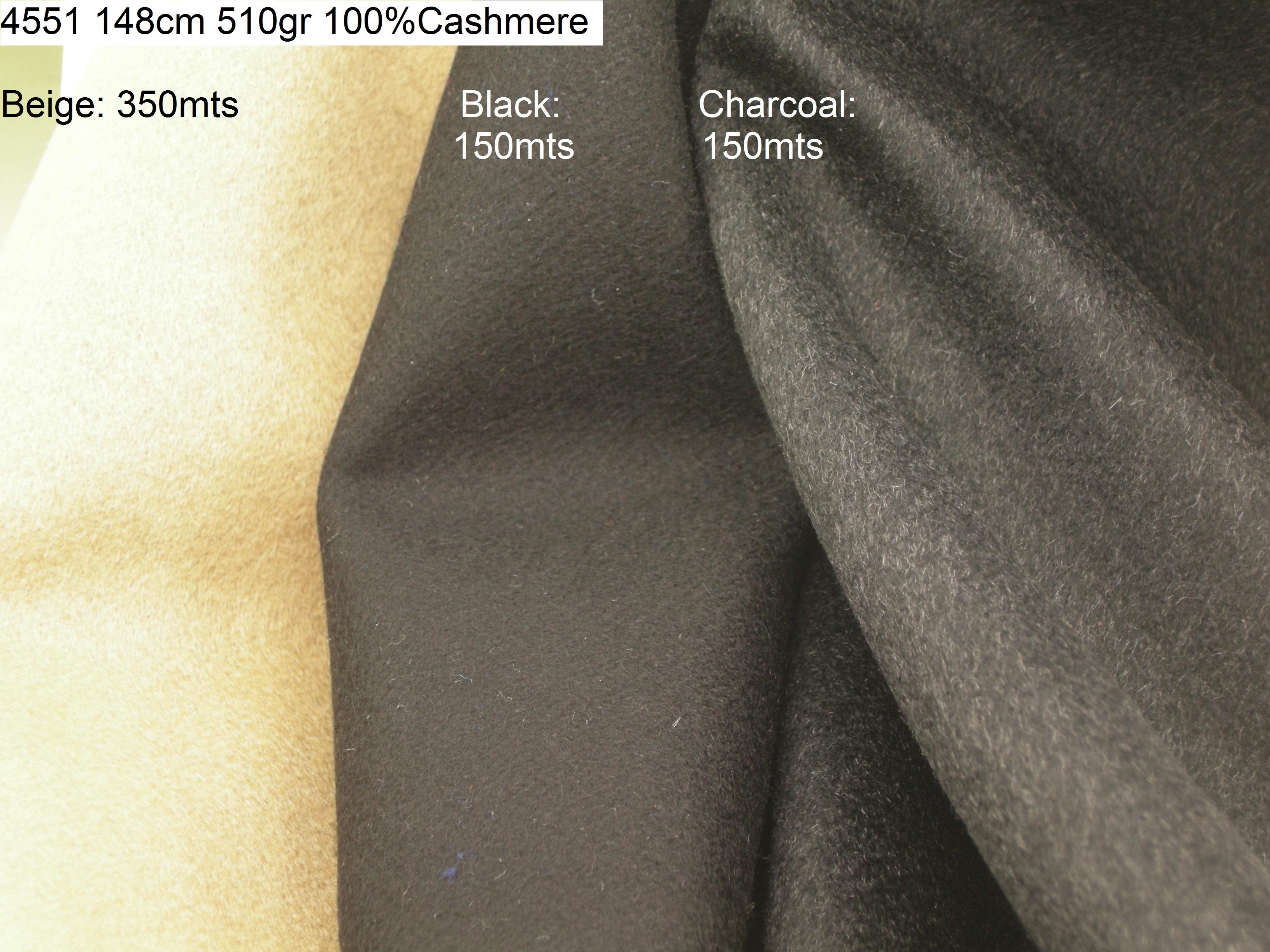 4551 pure cashmere coat fashion fabric