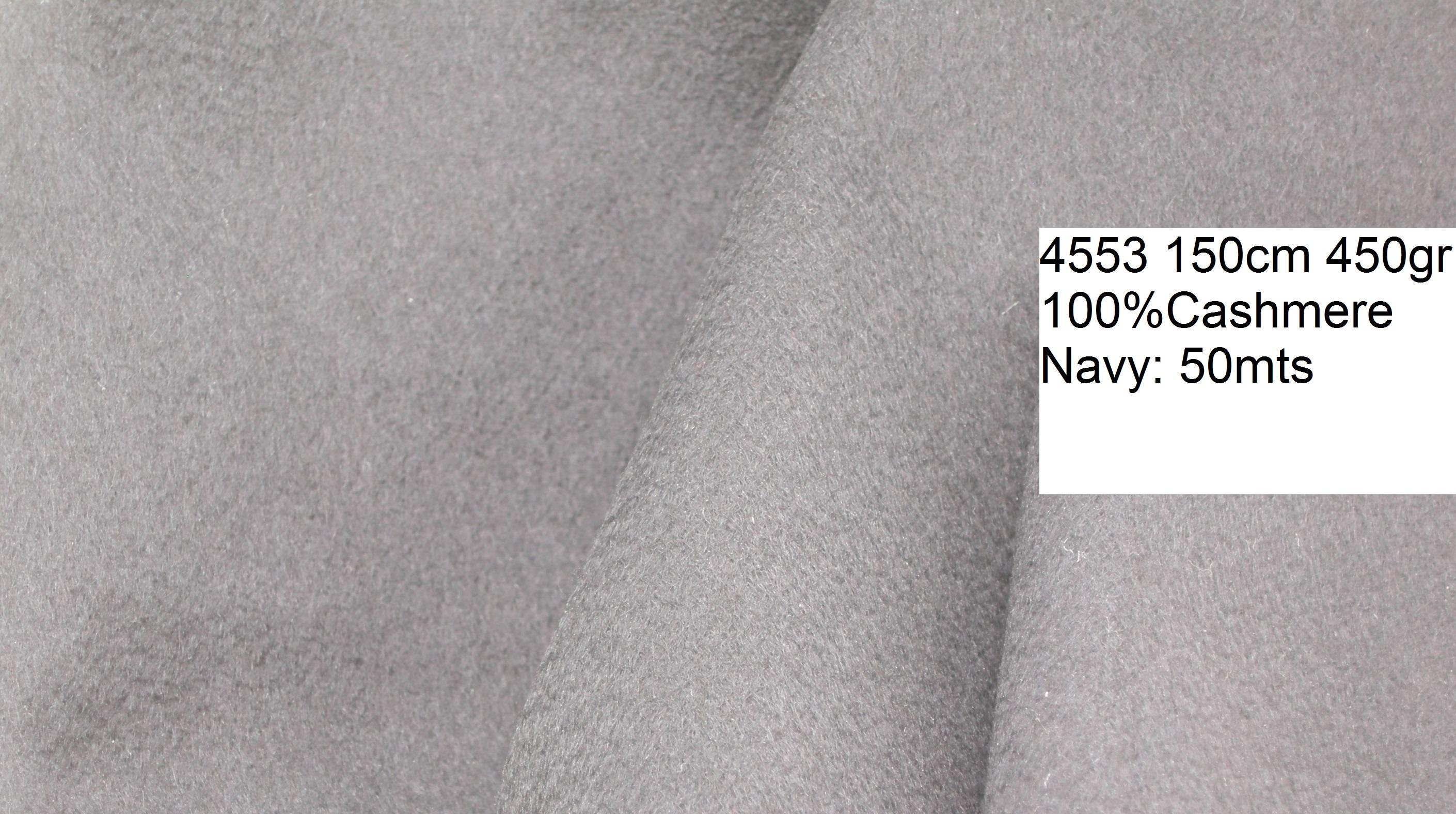4553 pure cashmere zibellino coat fashion fabric