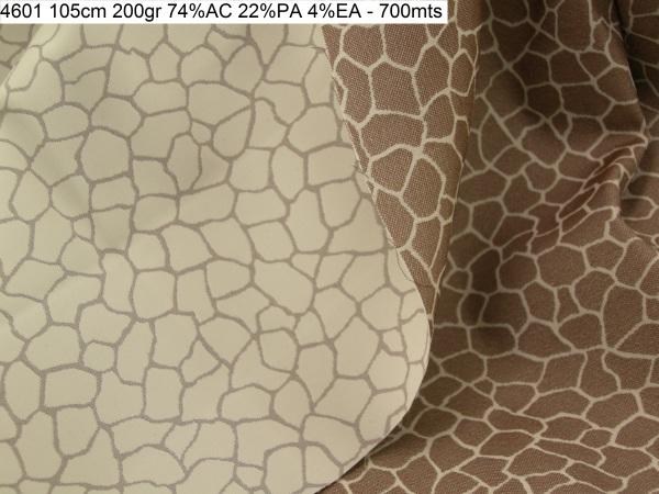 4601 jaquard giraffe pattern stretch jacket fashion fabric