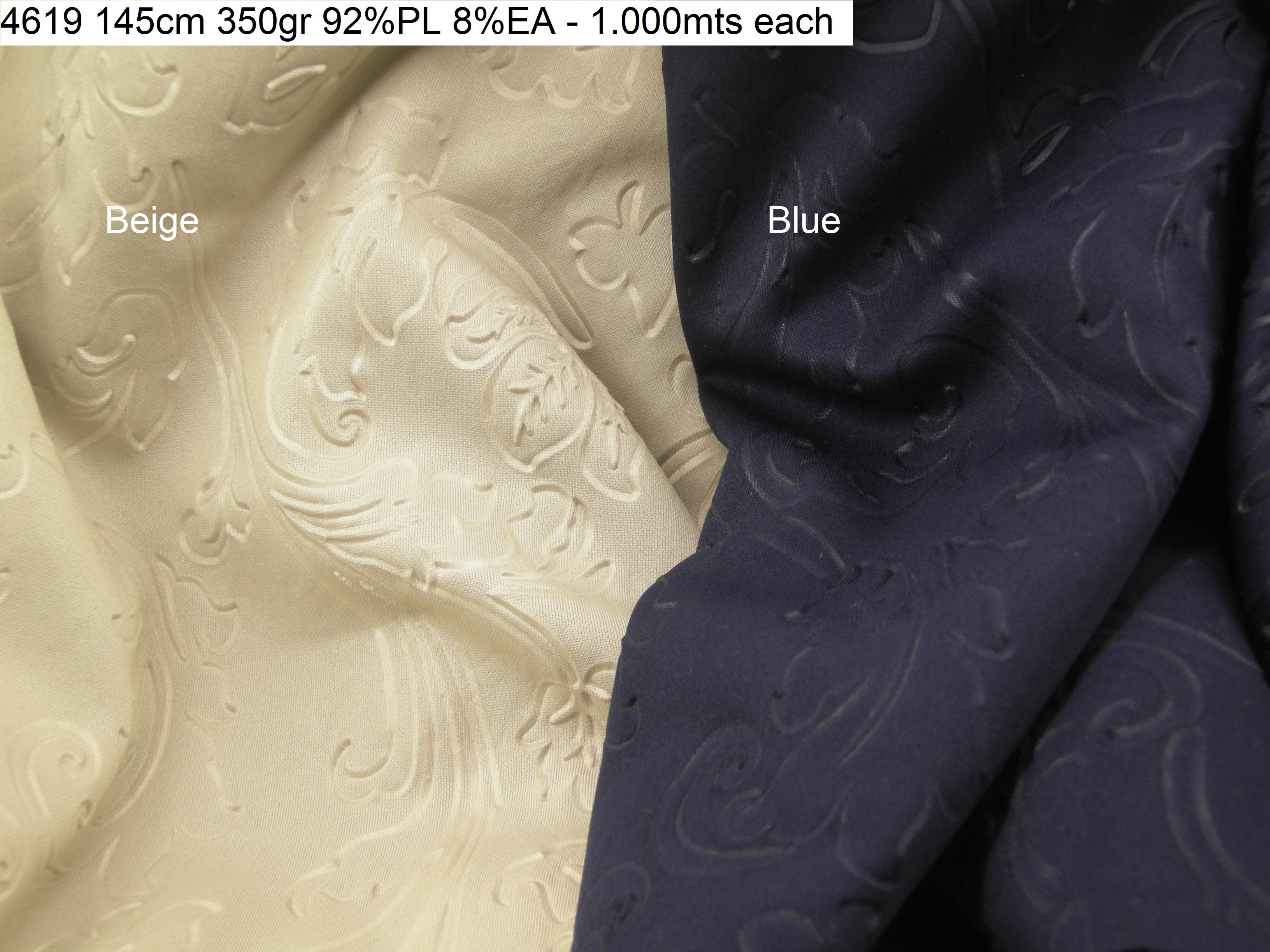 4619 scuba inprinting jacket coat fashion fabric