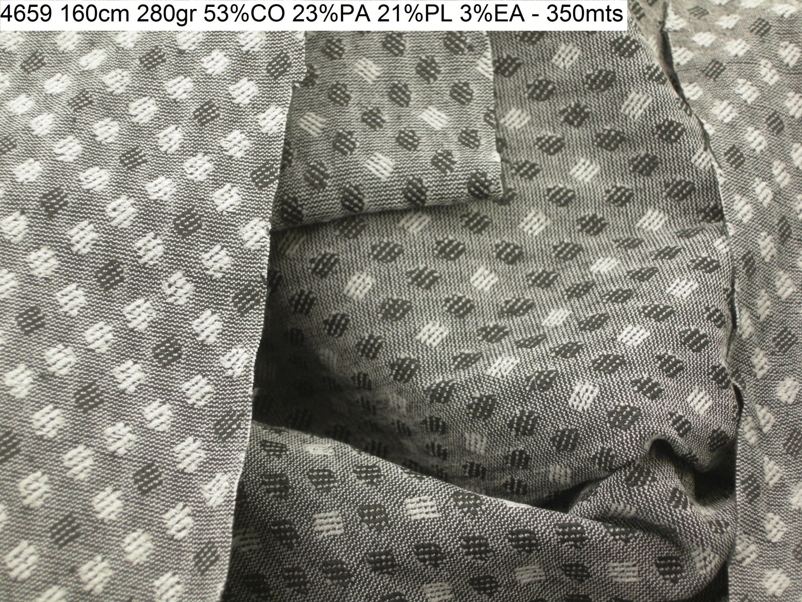 4659 doubleface comfort jaquard jacket fashion fabric
