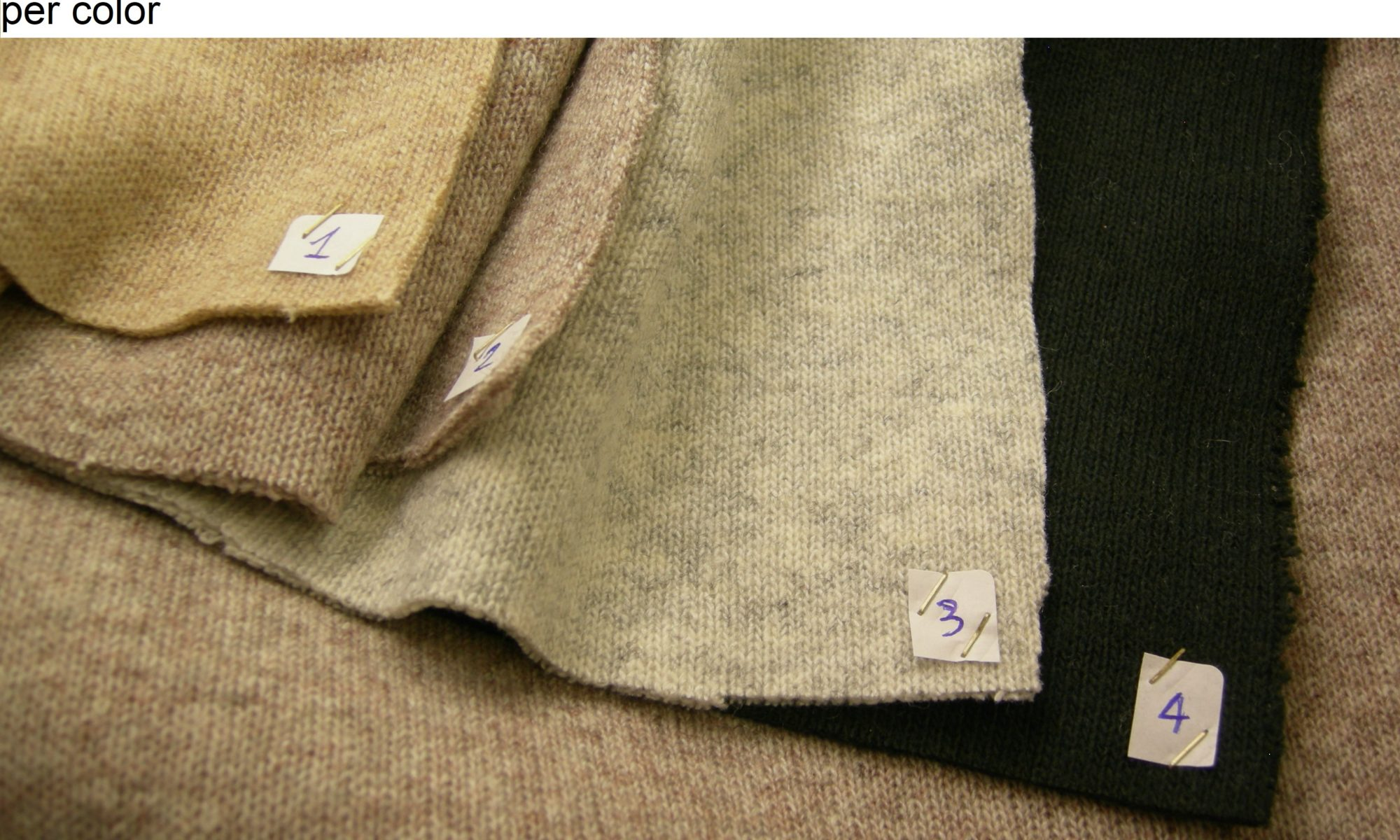 ART 7132 Double faced knit jersey jacket coat fabric WIDTH cm140 WEIGHT gr540 COMPOSITION 55 Wool 40 polyester 5 others - 300mts per color