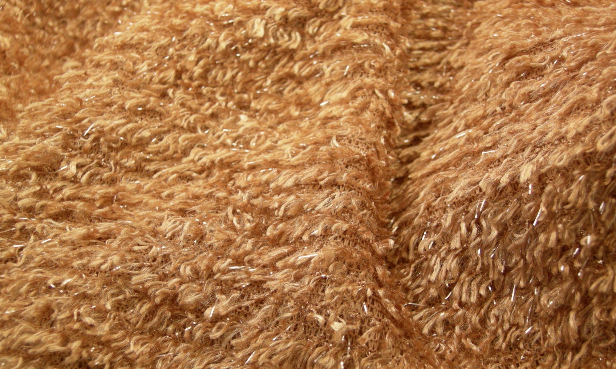 ART 7146 lurex faux fur collar jacket fabric WIDTH cm100 WEIGHT gr250 COMPOSITION 100 polyester - 300mts