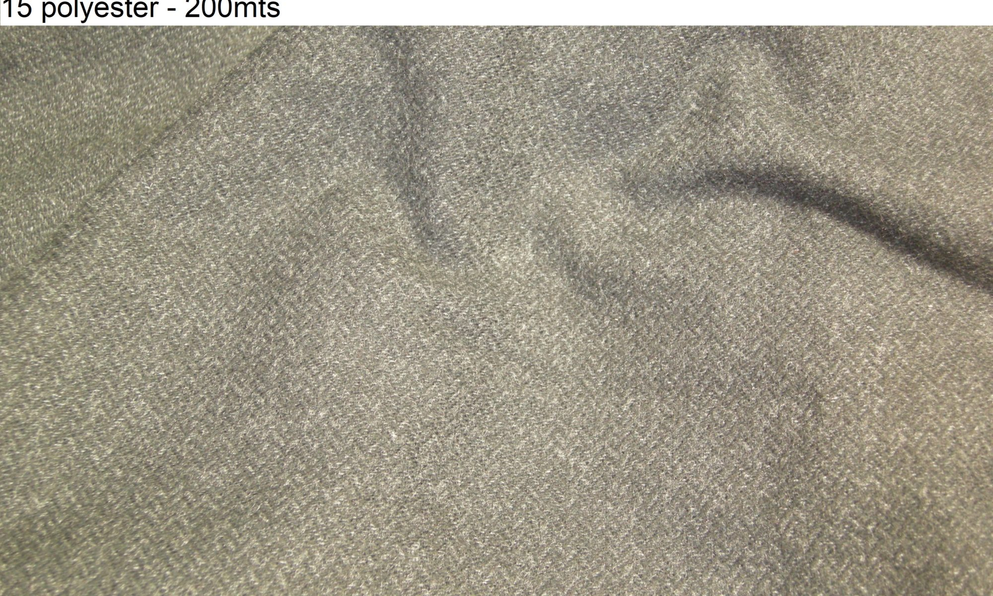 ART 7419 cotton blend herringbone jacket coat fashion fabric WIDTH cm150 WEIGHT gr520 - gr346 square meter - COMPOSITION 85 cotton 15 polyester - 200mts