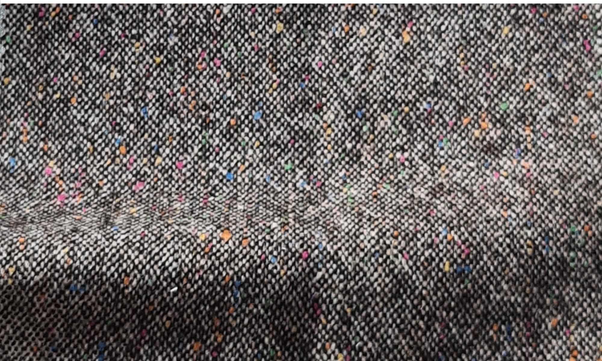 7622 knickerbocker tweed brown jacket fabric WIDTH cm137 WEIGHT gr320 - gr233 square meter - COMPOSITION 45 Wool 32 Polyester 16 Acrylic 5 Silk 2 Elastan - 614mts